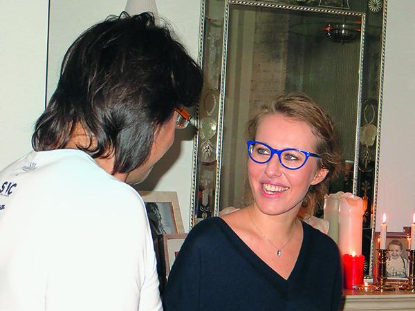 Ксения Собчак оценила мою футболку с символикой ее журнала