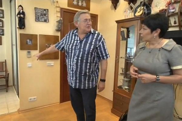 Так выглядела квартира Юрия Стоянова до обустройства