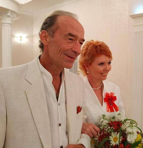 Владимир Торсуев и Лилия