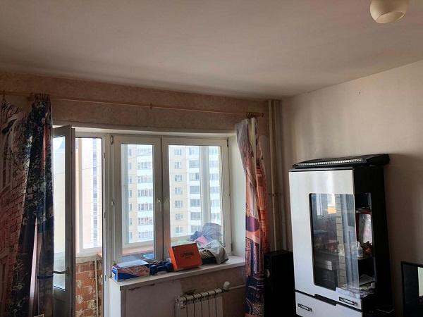 В квартире еще не начаты ремонтные работы
