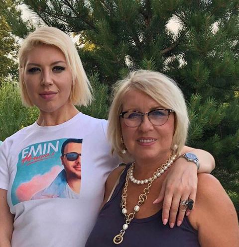 Наталья Ступишина с дочерью