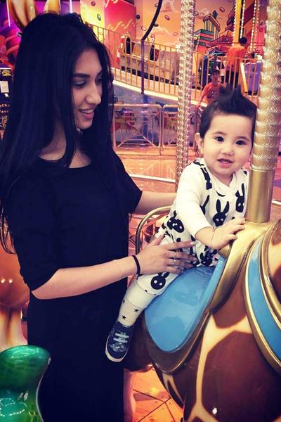 Нигора с сыном живут в Шымкенте, а Адиль живет в Москве, поэтому редко видит ребенка.