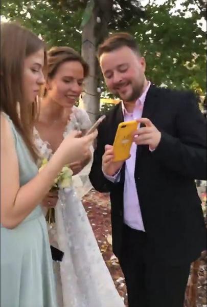 Георгий с молодой женой Анной