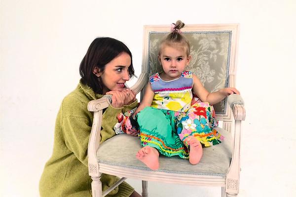 Юлия воспитывает 4-летнюю дочь Симону