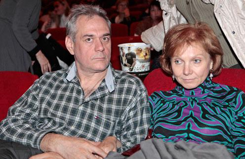 Сергей Доренко с первой женой Мариной