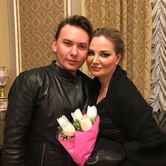 Мария Максакова с коллегой Алексом Луной