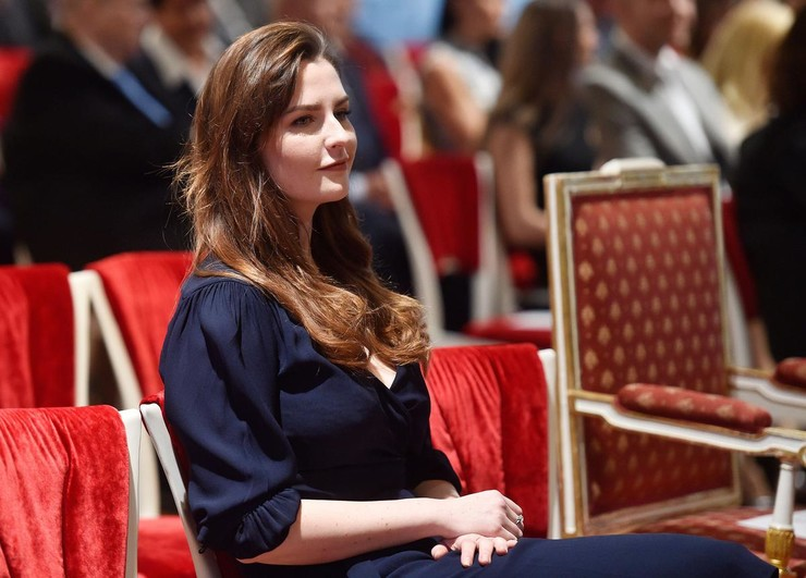 Дочь президента Чехии Катержина