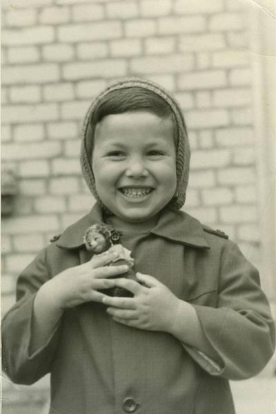 Владимир Соловьев в детстве