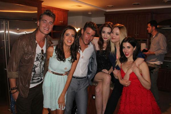 Алексей успел подружиться со всеми актерами, снимавшимися в фильме