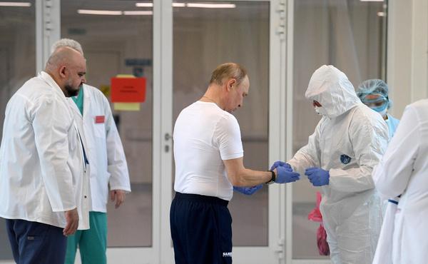 Вчера глава государства посетил больницу в Коммунарке