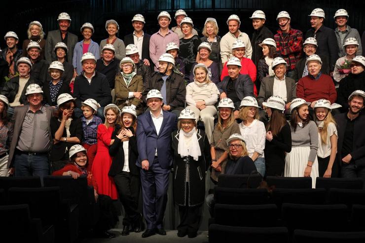 Волчек руководил театром «Современник» 30 лет и был душой коллектива.
