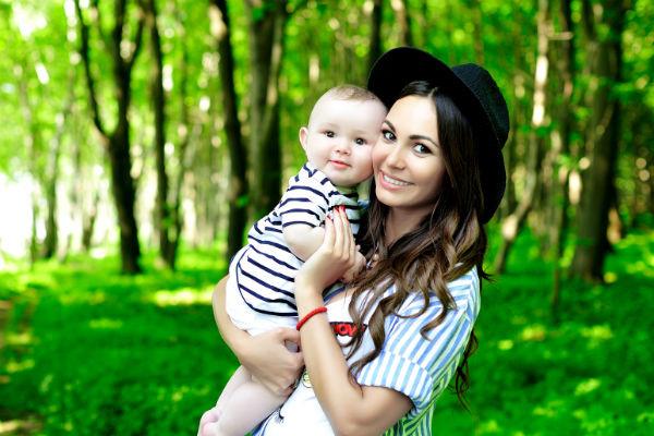 В прошлом году Инна стала мамой в третий раз