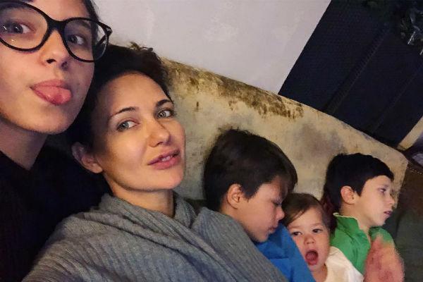 Екатерина Климова проводит каждую свободную минуту с детьми