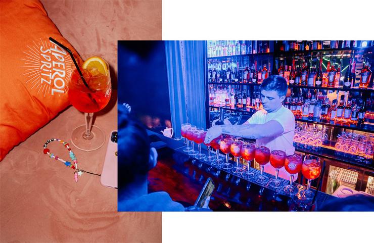 Гостей премии угощали настоящим хитом всех вечеринок — знаменитым коктейлем Aperol Spritz