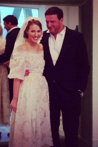 Ксения и Максим поженились спустя четыре месяца после начала отношений