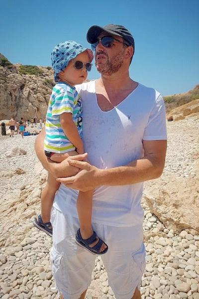 После развода Максим Виторган продолжает участвовать в воспитании сына