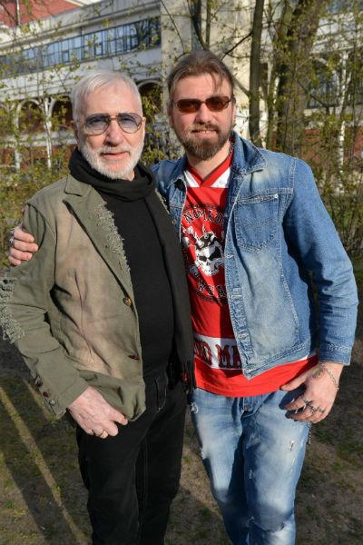 Виктор Мережко с сыном Иваном