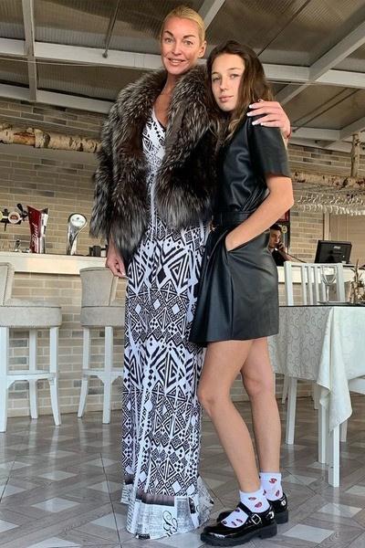 Волочкова с дочерью Аришей