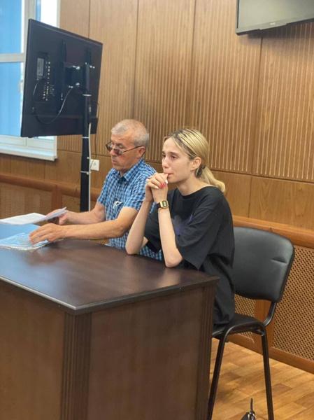 Вчера Валерию отправили в СИЗО.