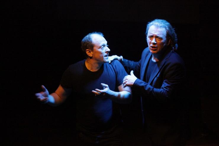 Гусев и Деушин вместе работали на многих спектаклях.