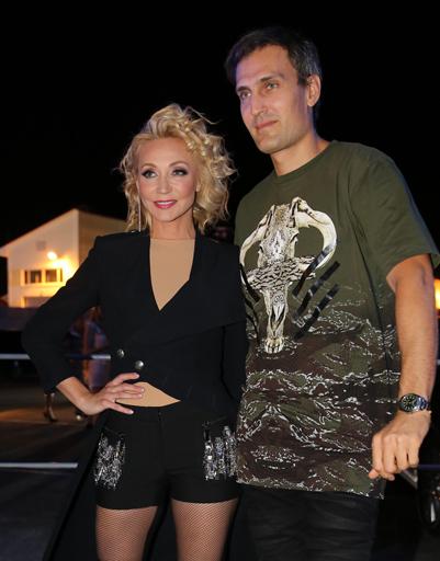 Кристина Орбакайте с супругом Михаилом Земцовым