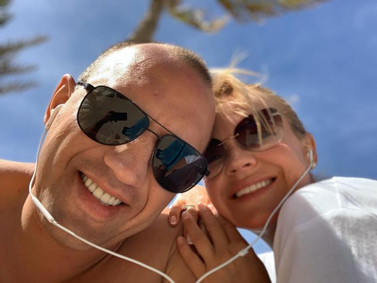 Ира с мужем Романом
