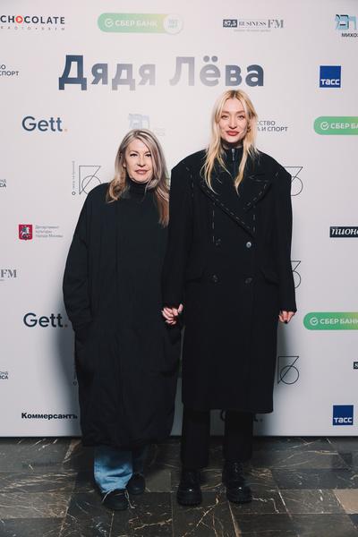 Маша Миногарова с мамой
