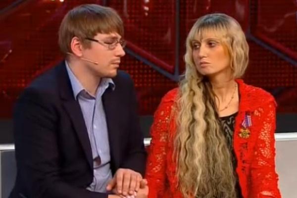 Лама Сафонова с супругом Алексеем Ивановым