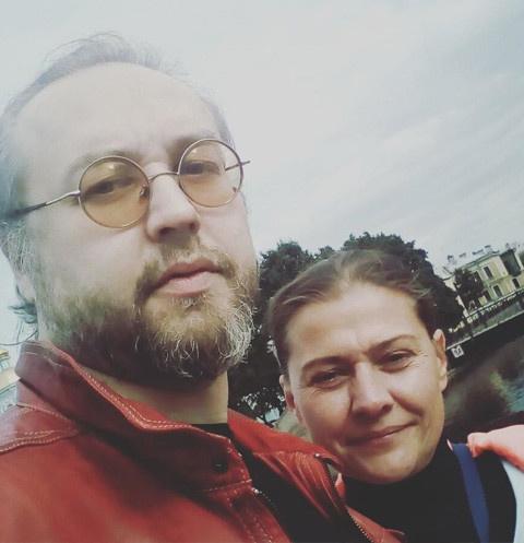 Борис Ливанов и Мария Голубкина