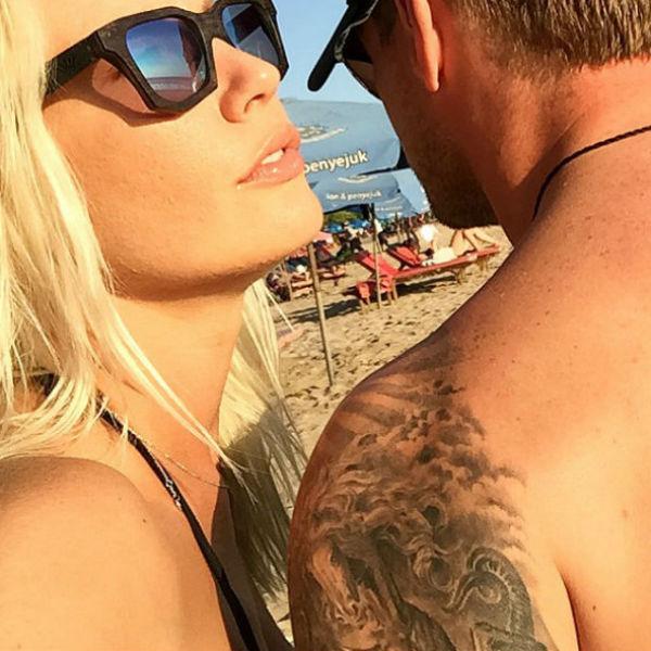 Лена и Юрий провели вместе отпуск на Бали