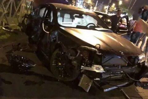 Федор Смолов разбил спортивный автомобиль летом 2018 года