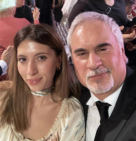 Валерий и Инга Меладзе