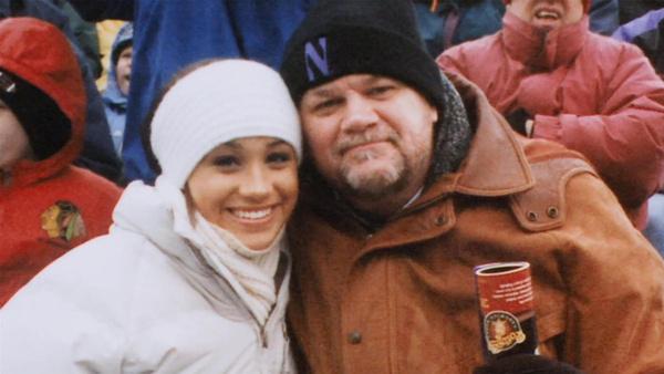 В юности Меган была очень близка с отцом