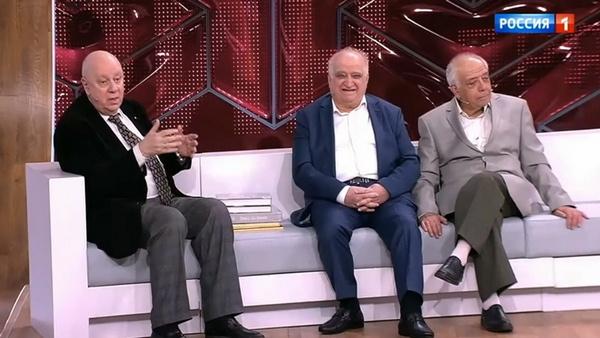 Аркадий Инин с братьями Вадимом и Михаилом