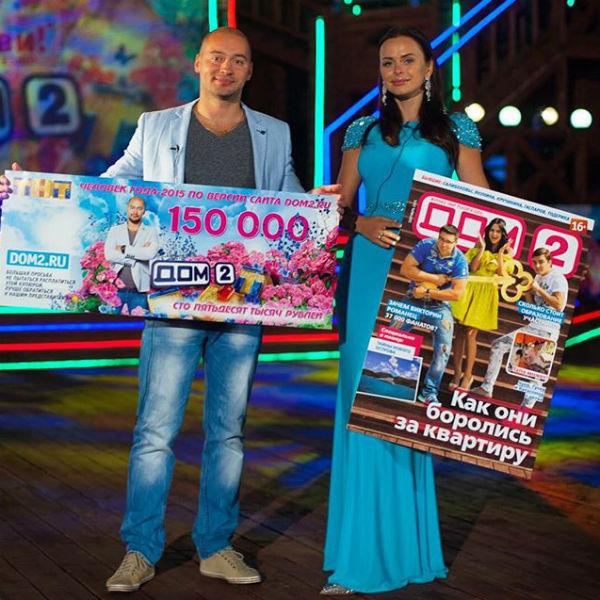 """Черкасов стал """"Человеком года"""" по версии посетителей сайта телепроекта, а Вика - по версии журнала"""