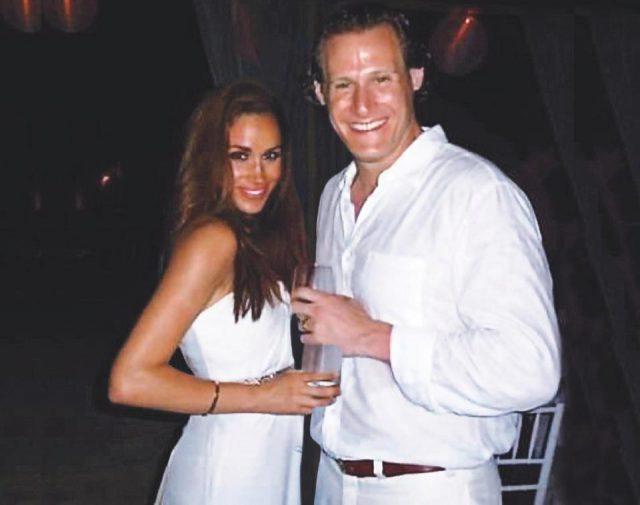 Меган Маркл с экс-супругом на вечеринке
