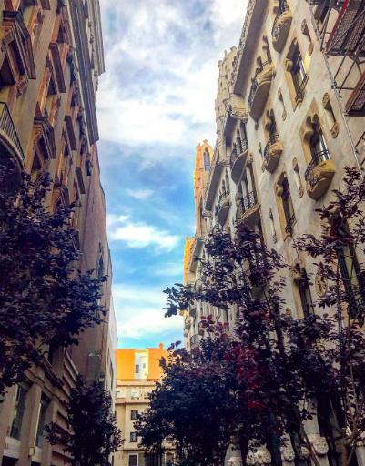 Архитектура Барселоны захватывает дух