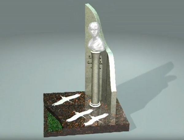 Скульптуру пришлось сделать не хрустальной, а бронзовой