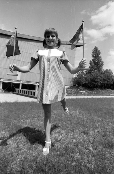 Во втором классе Ольга Корбут открыла для себя спортивную гимнастику