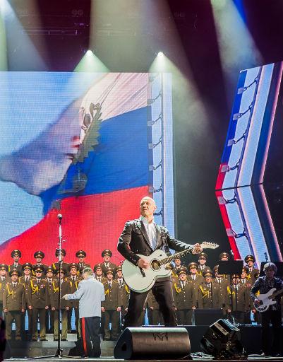 Майданов исполнял много патриотичных песен