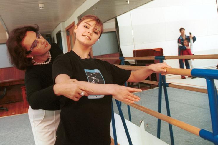 Ирина Винер разглядела в Кабаевой талант