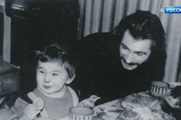 Тальков с сыном Игорем