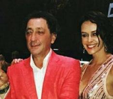 Супруга Григория Лепса произвела фурор на его юбилее