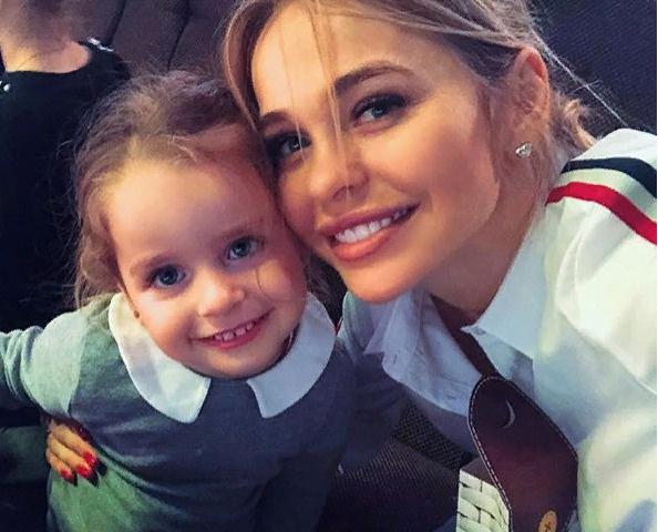 Анна Хилькевич с дочерью Арианной