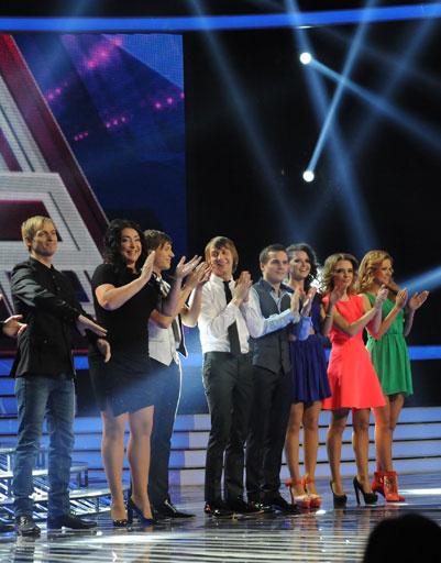 Участники шоу с Лолитой Милявской