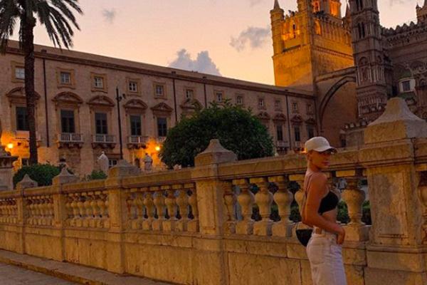 Настя осталась довольна отдыхом в Италии
