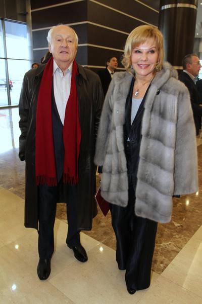 Марк Захаров с дочерью Александрой Захаровой