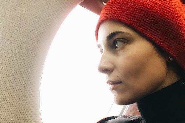 Актриса теперь боится летать