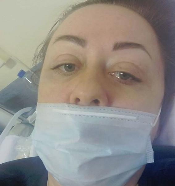Виктория заразилась на вызове у пациента