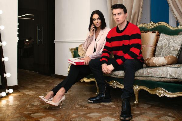 Муж Алексей Косинус делился с супругой своими наработками